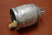 Handmade Cow Goat Sheep Rusty Silver Iron Metal Bells 13cm