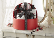 Winter in Venice Pomegranate Jewellery Case - Luxurious Toiletries infused with Natural Fruit and Plant Extracts packed in a Reusable Jewellery Case. Award Winning and Best Selling Bath Gift Set