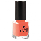 AVRIL - Vegan Nail Polish - Chemicals Free - Corail 02 - Easy Application, Not Tested on Animals - 7ml