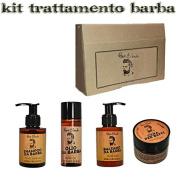 Treatments Products Beard Beard Renee B. Shampoo, Conditioner, Oil Wax Kit/Set