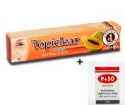 Topiclear Papaya Skin Tone Cream 50g (EU) & P+50 Lightening Soap 200g