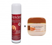 Topiclear Cocoa Butter Skin Tone Body Lotion 500ml (EU) & First Lady Cocoabutter Mint Cream 500ml