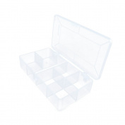 30 PCS Arts Crafts Sewing Organisation Storage Transport Boxes Organisers Clear Beads Tackle Box Case 529YJ
