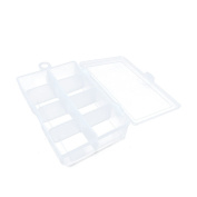 5 PCS Arts Crafts Sewing Organisation Storage Transport Boxes Organisers Clear Beads Tackle Box Case 342FN