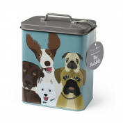 "Burgon & Ball ""The Rabble"" Dog Storage Tin"