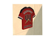 MAJOR LEAGUE BASEBALL - MLB TEAM JERSEY CLOCK - ANY NAME & ANY NUMBER - YOU CHOOSE!
