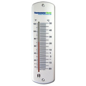 Large Wall Thermometer Garden Greenhouse Home Office Room Use Indoor or Outdoor