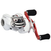 KastKing WhiteMax Baitcasting Fishing Reel – Perfect Low Profile Baitcaster Reel! 11 +1 Shielded Bearings, 7.9kg Carbon Fibre Drag - 5.3:1 Gear Ratio