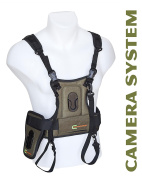 Cotton Carrier CCS Harness System for Binoculars and Camera - Black