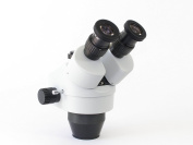 TEC Microscopes HM-3 Stereo Microscope with Phototube 10X Eyepieces on Dual Illuminated LED Pole Stand