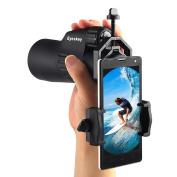 Eyeskey Binocular Phone Adapter Telescope Cell Phone Holder Clip Mount for Binocular, Monocular Universal Size