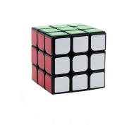 Three Horses 3*3 Rubik's Cube Smooth Feel Good Speed Black 5.6 * 5.6 * 5.6CM