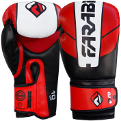 Farabi Pro Safety Tech Fighter MMA , Muay Thai Training Sparring Boxing Kickboxing Punching Gloves mitts