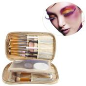 Xiaosan Makeup Brush Bag Cosmetic Tool Brush Organiser Holder Pouch Pocket Kit