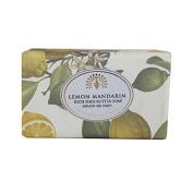 The English Soap Company Rich Shea Butter Soap for Women, Lemon Mandarin, 210ml