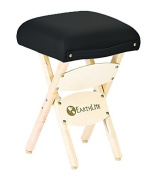 Earthlite Folding Massage Stool (Black) by EarthLite