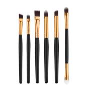 Sunward Women Girl 6PCS Professional Cosmetic Makeup Brush Lip Makeup Brush Eyeshadow Brush