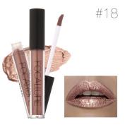 MakeUp Pen, Egmy Fashion FOCALLURE New Fashion Lipstick Cosmetics Women Sexy Lips Metallic Lip Gloss