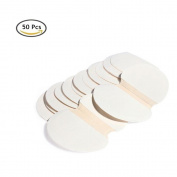 Gospire 50 pcs (25 Pair) Disposable Underarm Pads Armpit Sweat Pads Perspiration Pads Shield Absorbing Anti Perspiration Odour Sheet for Women