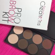 Beauty Creations Pro Brow Kit 6 Powder 2 Cream