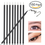 NUOLUX NUOLUX Eyeliner Applicator Brush,Disposable Eyeliner Makeup Applicator,150 Pack