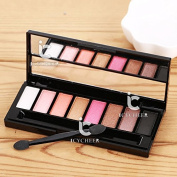 8 Colours Makeup Pink Series Shimmer Eyeshadow Palette Eye Shadow Natural Nude