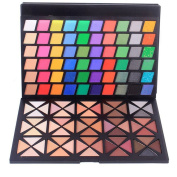 Professional 120 Colours Warm Shimmer MakeUp Eyeshadow Palette