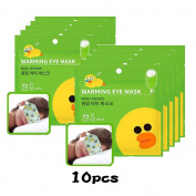 MEDIHEAL X LINE FRIENDS Warming Eye Mask (Citrus) 10pcs
