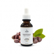 Purifect 100% Natural Argan and Vitamin E Facial Oil Serum - Natural Moisturiser, Repairs and Prevents Damage, Anti-ageing, Anti-wrinkle - For Dry Skin, Sun or Environmental Damage - 30ml