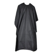 Gospire Black Barbers Cape Hair Cut Hairdressing Hairdressers Nylon Cape Perfect For Hair Cutting