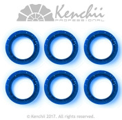 KENCHII KEFIP1 Extra Soft Premium Quality Finger Ring Inserts Blue
