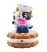 Silicone Gold Pig Kitchen Timer, Multicolor, 14 x 8 x 5 cm