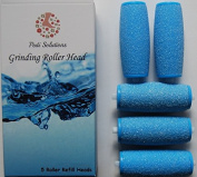 3 Extra & 2 Regular Coarse Pedicure Rollers Compatible with Amope Pedi Perfect Wet Dry Foot File