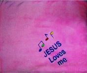 Jesus Loves me Baby/Toddler Blanket Blankee