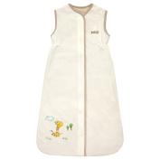 Small Unisex Baby Sleep Sack - 100% Cotton Wearable Blanket - Creamy Deer 0-6 Months