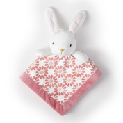 Adorable Levtex Baby Bunny 12x12 Security Blanket For Babies 1-24 Mos.