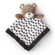 Adorable Levtex Baby Bear 12x12 Security Blanket For Babies 1-24 Mos.