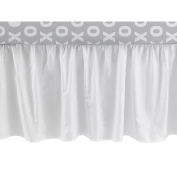 CoCaLo Collection White Dust Ruffle 14 Drop