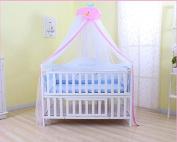 Mosquito Net - IFELES Toddler Bed Crib Canopy Mosquito Netting