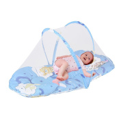 New born baby fold Mosquito Net Crib Small-size Kids Infant Nursery Bed Crib Canopy Mosquito Net Netting