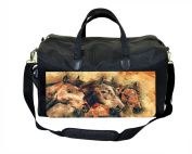 Vintage Style Horses Nappy/Baby Bag