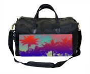 Coloured Palm Trees Nappy/Baby Bag