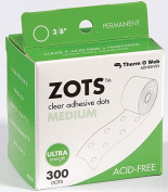 Med 300Box-Zots Mem Adhesv Dots by Therm O Web Inc.