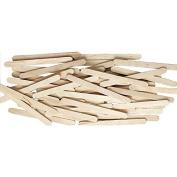 Natural Wood Craft Sticks 4 1/2 X 3/8 Natural Wood 150/PK 12 Packs