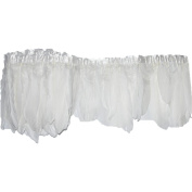 Everyshine 6 metres/lot width 15cm - 20cm DIY Feather Dyed Single long Feathers Strips Colour