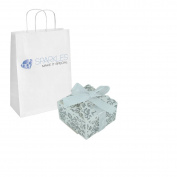 Sparkles Make It Special 200 White Ribbon Wedding Favour Gift Boxes