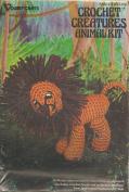 Vogart Crafts Crochet Creatures Animal Kit Lion #3101
