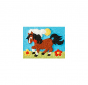 Orcidea ORC.4621 | Felt By Numbers Pony Children's Felting Kit | 20 x 15cm