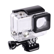 Suptig Replacement Waterproof Case Protective Housing for GoPro Hero 4, Hero 3+, Hero3 Outside Sport Camera For Underwater Use - Water Resistant up to 131ft