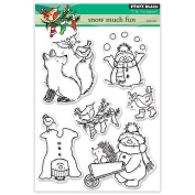 Penny Black 30-388 Clear Set Clear Stamp Set, 30-388,Snow Much Fun